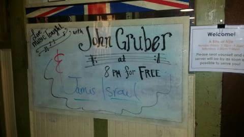 John Gruber at Fox & Goose in Sacramento, CA