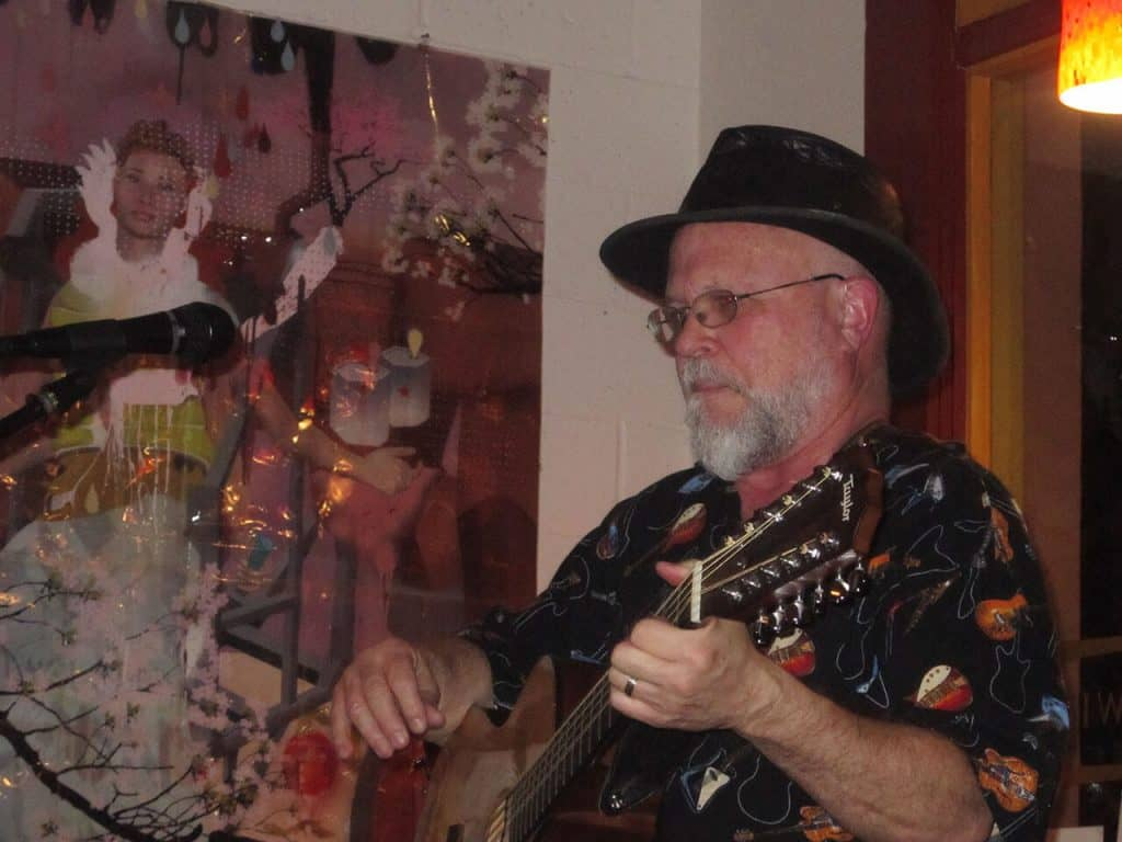 John Gruber Live Music at Midtown Village Cafe, Sacramento CA