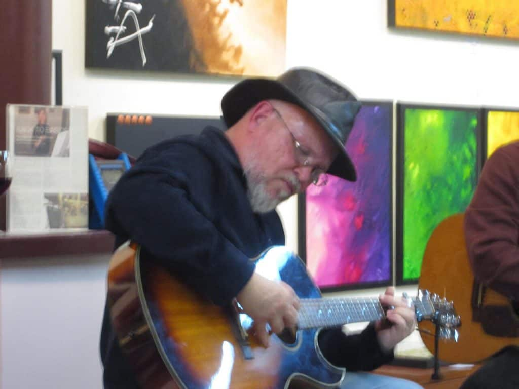 John Gruber Live Music at Patris Studio and Art Gallery, Sacramento CA