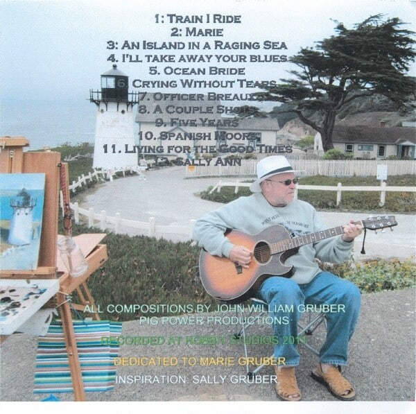 John Gruber To Soothe You Album Insert